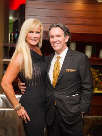 Theresa Roemer and Peter Remington at the Arthritis Foundation Award party May 2014