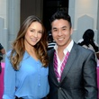 5 Madelyn Fitzpatrick and Victor Pham at the West Ave Turns Pink party October 2013
