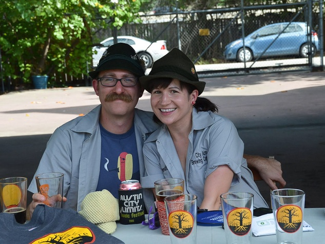 Darla, City Acre Brewing, October 2012, owners, Matt Schlabach, Meredith Borders