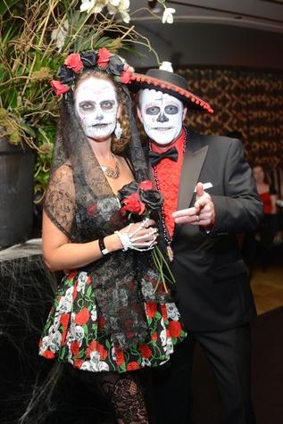 Kristina and Sam Pruett at Hotel ZaZa's Halloween Bash November 2014