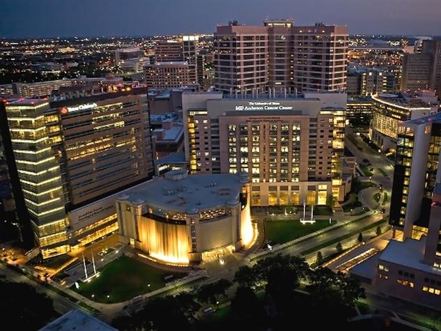 Texas Medical Center at night