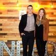 Johnny Cautwell, Brittany Partain at Need anniversary party