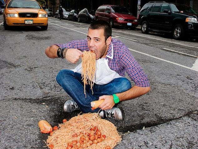 Montrose District, potholes, spaghetti