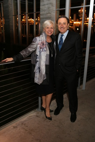 News, Equinox Opening Dinner, Dec. 2015, Sallie Sargent, Tom Ajamie
