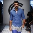 New York Men's Fashion Week Grungy Gentleman spring summer 2016 shorts shirt