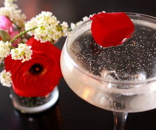 St Genevieve Austin bar Rock Rose March 2016 drink cocktail I Dream of Genevieve