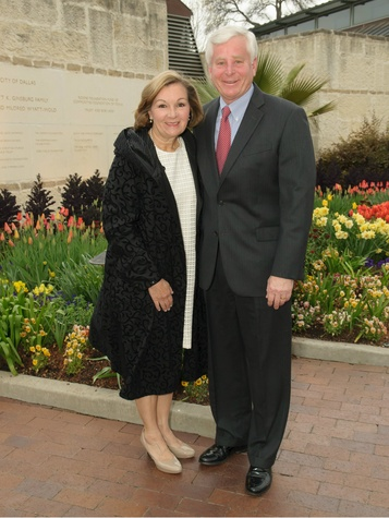 Joan and Alan Walne, Sping Dinner Event