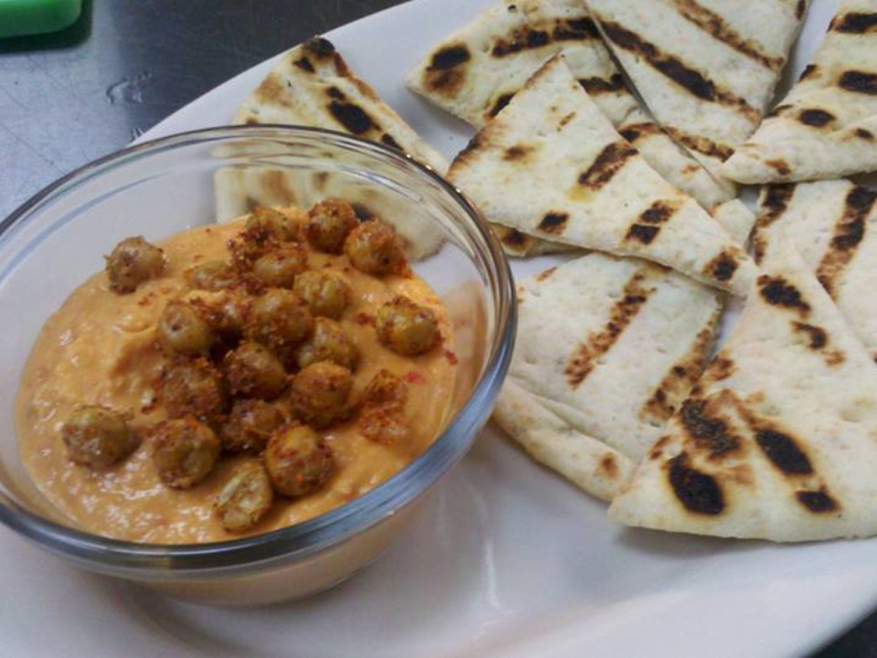Hummus at Dallas Beer Kitchen