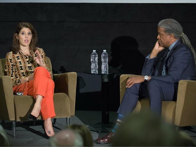 Marisa Tomei, elvis mitchell, art of film