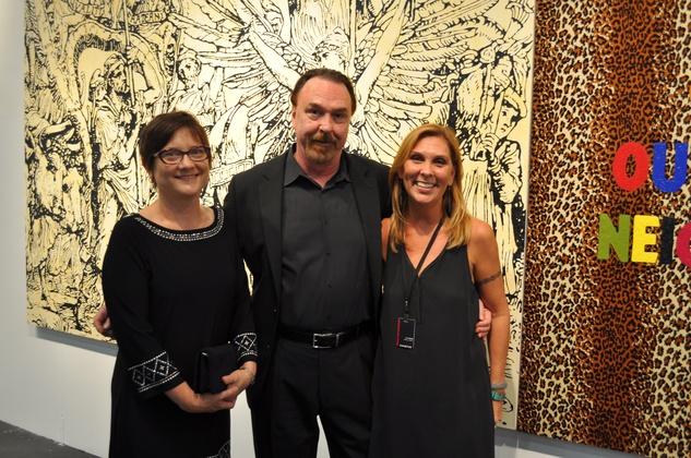 News, Shelby, Texas Contemporary opening, Sept. 2014,  Jan Burandt, Dan Allison, Lee Steffy