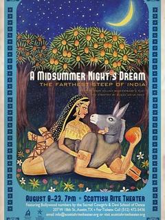 poster A Midsummer Night's Dream at Scottish Rite Theater