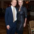 Pierce Bush and Paula Mott at the SIRE Under the Stars event April 2014