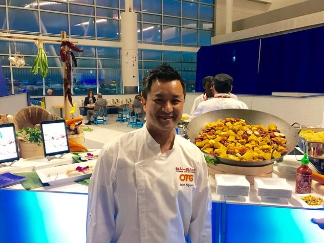 IAH Terminal C North John Nguyen Bam Bam