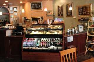 River Oaks Coffee House, Interior Counter, June 2012