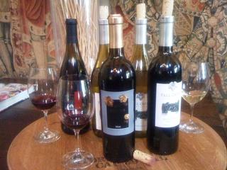 Austin Photo Set: News_Matt McGinnis_Fall Creek Wine_Nov 2011_wines