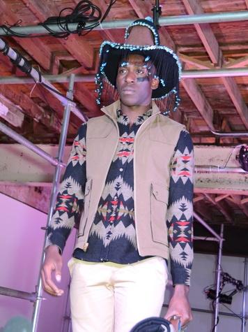 23 model at Diverseworks' Fashion Fete