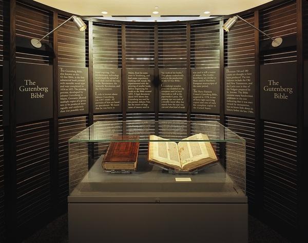 Austin_photo: News_Sam_David Foster Wallace_Gutenberg Bible