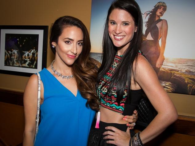 FashionXAustin Austin Fashion Week Kickoff 2015 at Speakeasy Courtney Shields Ashley Hargrove