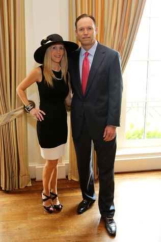 7 Michelle and Alan Smith at Hats Off to Mothers luncheon March 2015