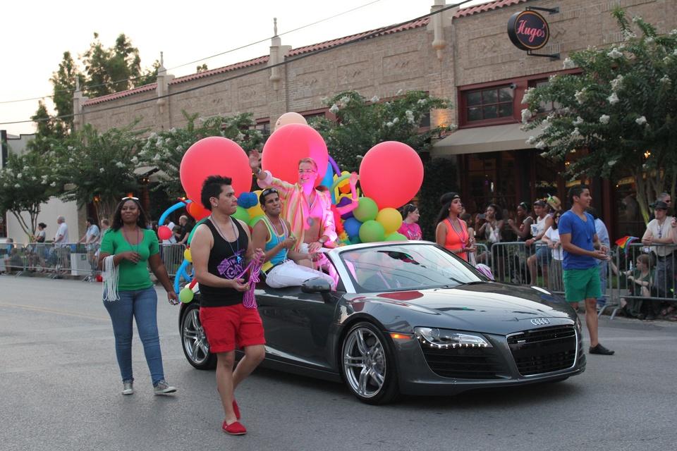 Gay Pride Parade, Nicolas Brines, June 2012