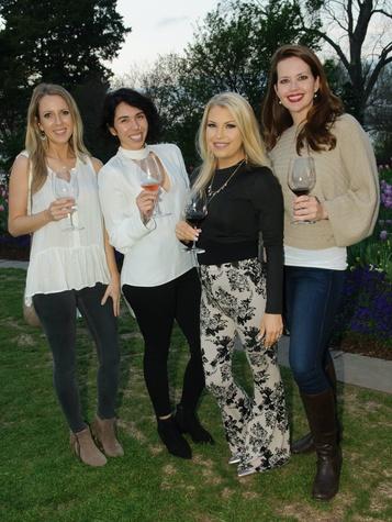 Emily Shepherd, Lo Woods, Lauren Lewis, Sarah Cardwell