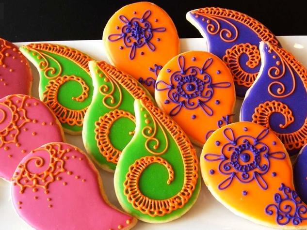 Michael's Cookie Jar bright icing sugar cookies