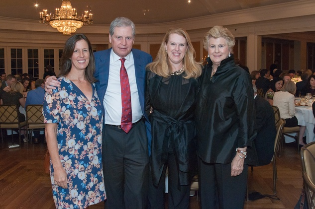 Houston, River Oaks Chamber Orchestra Gala, October 2015, Sarah Sampson, Bill and Ellen Morris, Alann Sampson