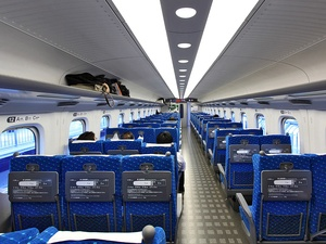 News_bullet train_Shinkansen Series N700_interior