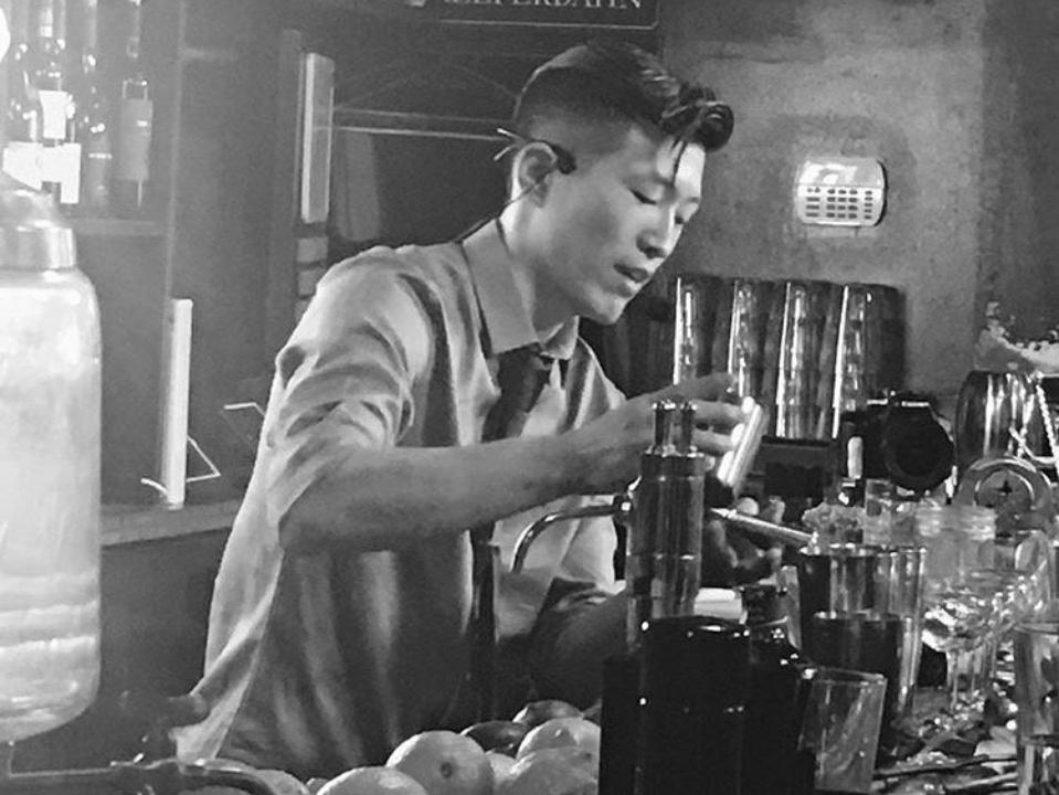 Dallas bartender Andrew Stofko