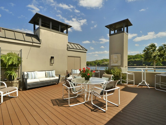 2329 Westlake Austin house for sale rooftop
