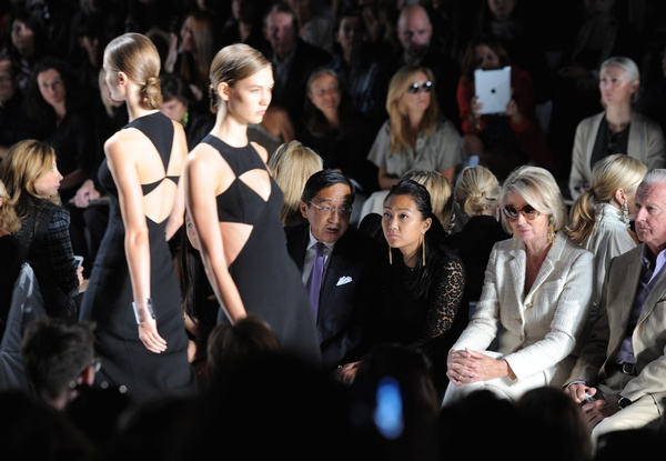 Michael Kors, spring 2013, runway black gowns