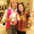 Dana Kervin, left, Kim Shoemaker at Neiman Marcus' Stiletto Strut