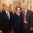 Rolland and Sherry St. Aubin, from left, with Ulyesse LeGrange at the LSU Foundation luncheon June 2014