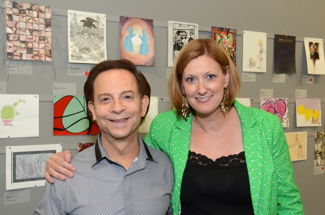 2 Lester Marks and Elizabeth Dunbar at Luck of the Draw May 2014