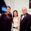 24 Jessica Phifer, left, with Cynthia and Tony Petrello at the CAMH Gala March 2015