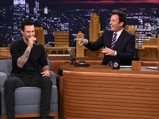Adam Levine on Jimmy Fallon