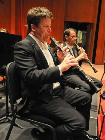 Jonathan Fischer, Houston Symphony, oboe, September 2012