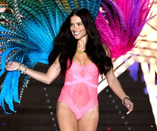 Adriana Lima in 2015 Victoria's Secret fashion show
