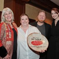 My Table Houston Culinary Awards October 2013 Brandi Key, Randy Evans