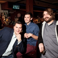 Reserve 101 anniversary party, January 2013, Chip Hight, Aaron Lamp, Josh Flagg