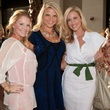 Brandi Redmond, Jessica Tondre and Stephanie Hellman, partners card kick off party