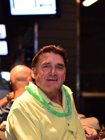 29 our 8 Dan Pastorini at the Literacy Advance Reader Cup February 2014