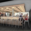 Counter 3 Five VII Restaurant Austin rendering