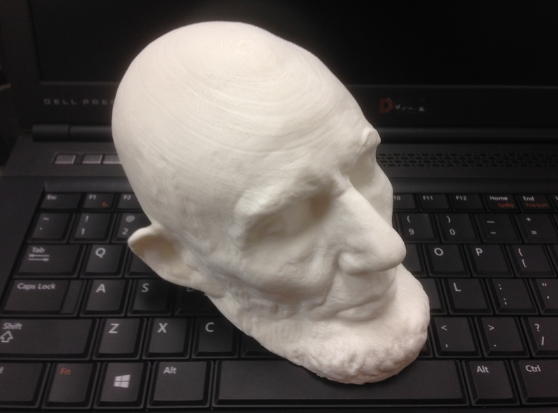 Abraham Lincoln 3D Printing face mask