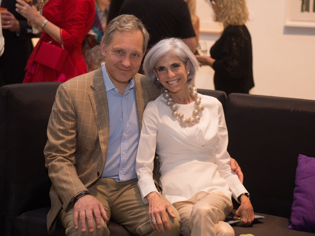 Judy and Scott Nyquist at Glassell Benefit 2017