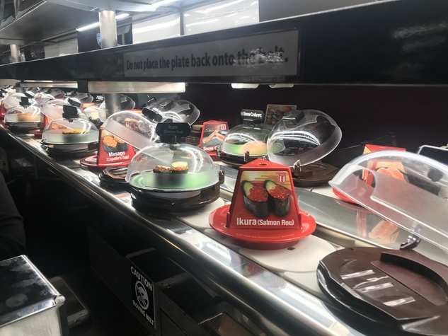 Kula Revolving Sushi conveyor belt