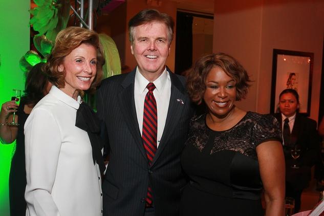Be An Angel Gala 2015 Sweet Affair Lt. Governor Dan & Jan Patrick with Deborah Duncan