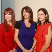 41 Lynda Transier, from left, Joy Posoli and Nancy Thorington at the Child Advocates luncheon December 2013