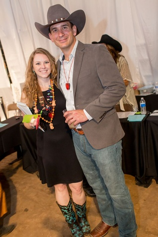 Cattle Baron's Ball 2015 Shannon and Roger Sadler