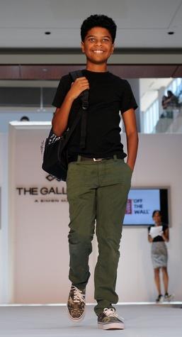 News, Shelby, MD Anderson Children's Fashions, August, 2014, Santana Draper wearing Vans